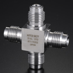 High-Purity Gas System Fittings - CVC - Union Cross
