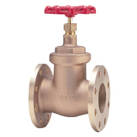 Bronze General-Purpose 150 Type Gate Valve Flange (Kitz)