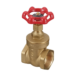 Brass General-Purpose 125 Threaded Gate Valve (Kitz)