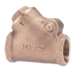 Bronze General-Purpose 125 Type Y Shaped Swing Check Valve Screw-in