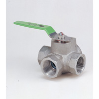 Stainless Steel General-Purpose Type 800 Ball Valve (Three-Type) Screw-in