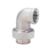 Union Elbow Fitting - Stainless Steel, Threaded (Kitz)