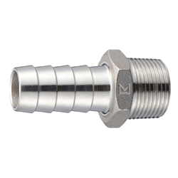 Stainless Steel Hexagon Hose Nipple Screw Fitting (PW)