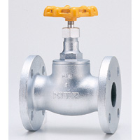 Ductile Iron 10K Globe Valve for LP Gas, Flanged