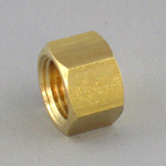 Cap Pipe Fitting - Threaded, Brass (Koyo)