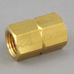 Socket Pipe Fitting - Female, Threaded, Brass (Koyo)