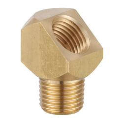 Elbow Pipe Fitting - Male, Brass, No. 24 Series (Kurita)