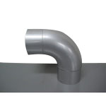 Stainless Steel Duct Fitting 90° Press Bend (Kurimoto)