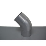 Stainless Steel Duct Fitting 45° Press Bend (Kurimoto)