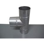 Stainless Steel Duct Fittings, Pipe T (Kurimoto)