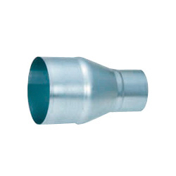 Spiral Duct Fitting Single Drop Pipe (Insertion Size x Insertion Size) (Kurimoto)