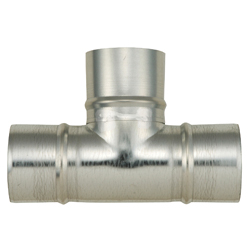 Spiral Duct Fitting T Tube (Kurimoto)