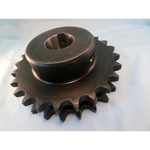Standard Sprocket: NK50-2B Model, Semi F Series with with Pre-bored Shaft Holes (New JIS Key)
