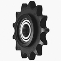 Standard engineering plastic idler sprocket