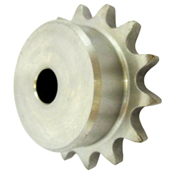 Stainless steel sprocket type 40B