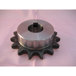 Standard 2080 Double Pitch Sprocket, S Roller B Type, Semi F Series, Shaft Holes Already Established (New JIS Key)