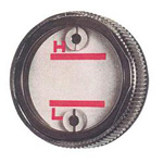 Round Oil Gauge, General Purpose, Screw Type, KDS Type