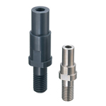Cantilever Shafts - Pilot Type - Hexagon, Threaded, with Tapped End, Thread Length Configurable, Electroless Nickel Plating