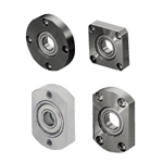 Bearings with Housings - Direct Mount, Unretained, Compact with Electroless Nickel Plating