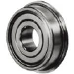 Small Deep Groove Ball Bearing - Double Shielded, Flanged (MISUMI)