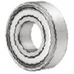 Deep Groove Ball Bearing - Double Shielded, Single Row (MISUMI)