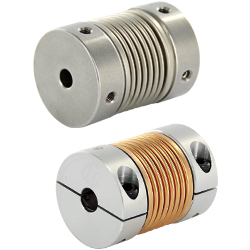 Couplings - Bellows, Setscrew / Clamping