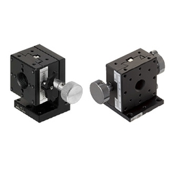 Z-Axis Stages- Dovetail Groove, Rack&Pinion, Standard Knob