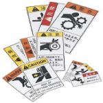 Caution/Warning/Danger Stickers