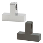 Hinge Bases - T-Shaped, Bottom Mount, Configurable, Electroless Nickel Plating
