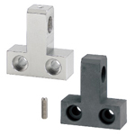 Hinge Bases - T-Shaped, Side Mount, With Tap, 304 Stainless