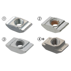 Nuts for Aluminum ExtrusionsImage