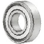 Large Deep Groove Ball Bearing - Double Shielded, Stainless Steel (MISUMI)