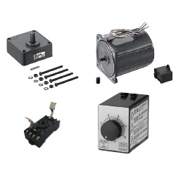[Overseas Standard] Small Geared Motors / Gear Heads - Variable Speed Motor Unit