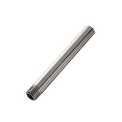 Precision Hollow Linear Shafts - One End Threaded