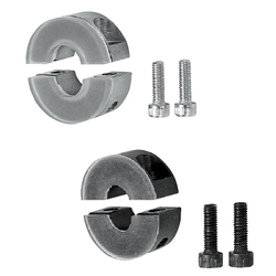 Shaft Collars - Split, With Damper