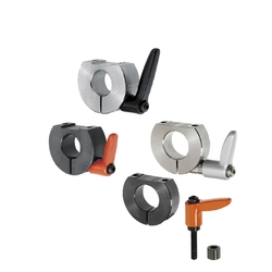 Shaft Collars - With Clamp Lever, D-Cut