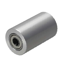 Rollers - Bearing Type, Straight / Crowned, 304 Stainless, Urethane Lining