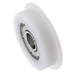 Engineered Plastic Bearings - One Side Flanged