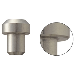Locating Pins - Hardened Stainless Steel Large Head - Flat End