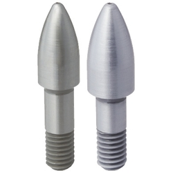 Large Head Locating Pin - Bullet Tip, Threaded Shank, P/L/B Configurable (MISUMI)
