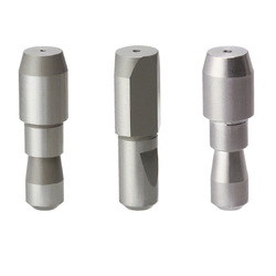 Large Head Locating Pin - Tapered Tip, Set Screw Flat Shank, P/L/B/G/A Configurable, Flat Position Selectable (MISUMI)