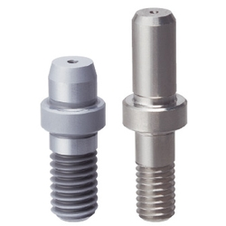 Shouldered Locating Pin - Tapered Tip, Threaded Shank, Angle and D/P Tolerance Selectable, P/L/B/E Configurable (MISUMI)