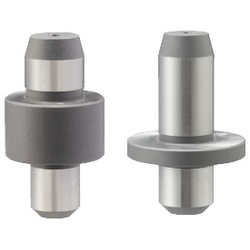 Configurable Shouldered Thick Locating Pin - R/D, Tapered Tip, Straight Shank, P/L/B/T Configurable (MISUMI)