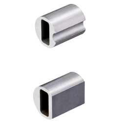 Bushings for Inspection Jigs - Square Shape Bore, Straight