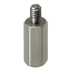 Small Dia. Hex Posts - One End Threaded, One End Tapped