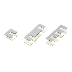 Square Shims - Slotted, Configurable