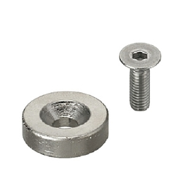Magnets - With Countersink, Round