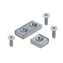 Magnets with Countersink Hole, Square&Rectangle