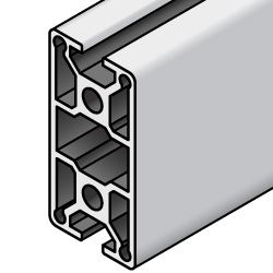 HFS6 Series Aluminum Extrusions 30mm / 60mm Square- -2 Slots-