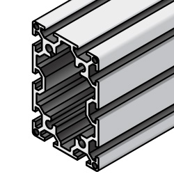 60x90 Aluminum Extrusion w/ Milled Surfaces - 6 Series, Base 30 (MISUMI)